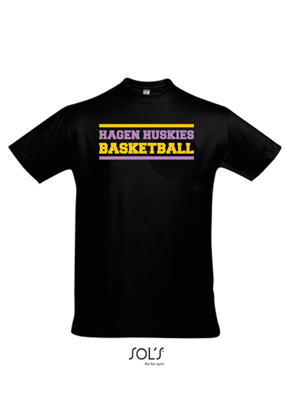 "Hagen Huskies Shirt ""Black"""