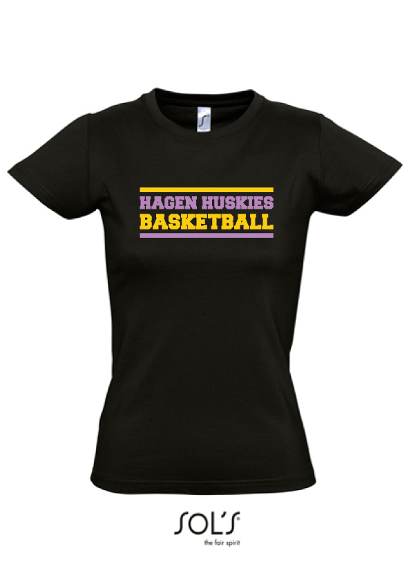 "Hagen Huskies Damen Shirt ""Black"""