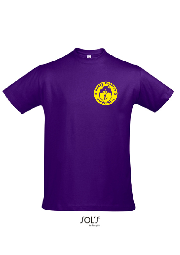 "Hagen Huskies Shirt ""Purple"""